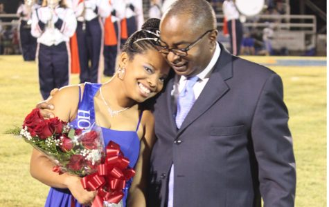 Hodge crowned Homecoming Queen
