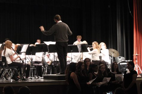 Band students play in UAB honor band