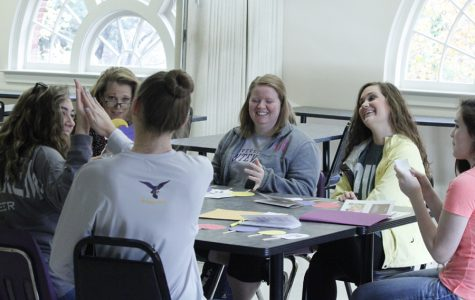 Future educators teach college class at UM