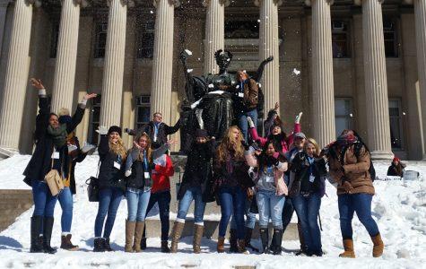 Journalism students take New York City