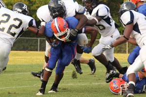 Bulldogs' efforts thwarted during Jamboree game