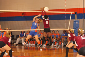 Volleyball team starts season with success