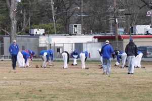 Baseball team readies for season