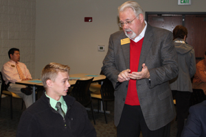 National Honor Society attends chamber meeting