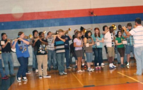 Pep rally energizes students