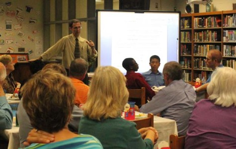 Principal hosts dinner for community leaders