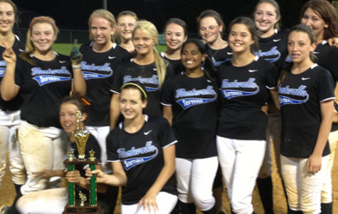 Softball team wins Area Championship