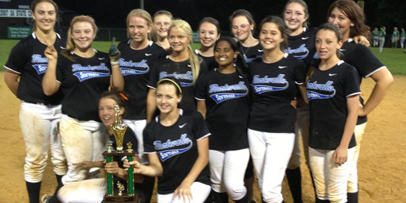 Softball+team+wins+Area+Championship