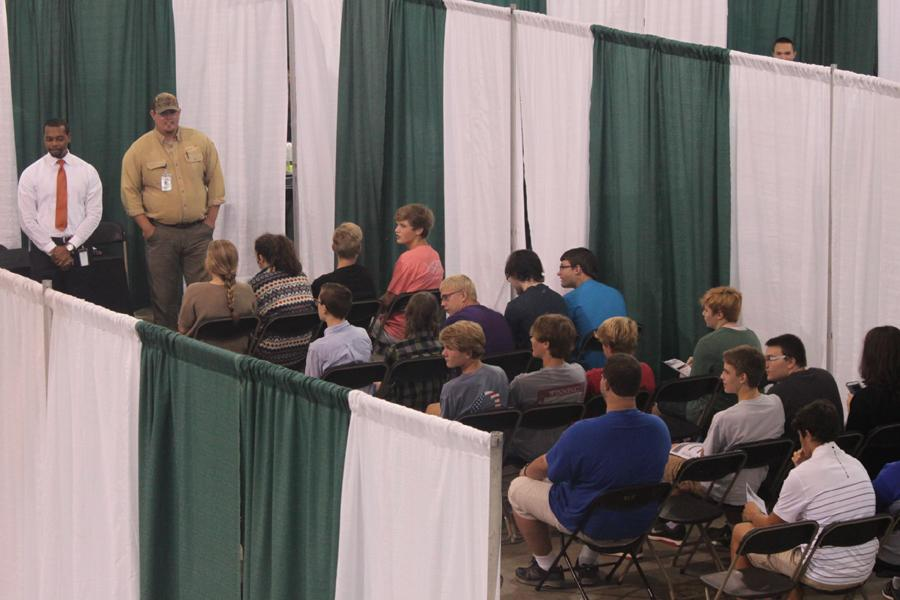 Shelby County sophomores visit with businesses throughout the county learning about various career options.