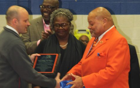 Pierson recognized for years of teaching and coaching