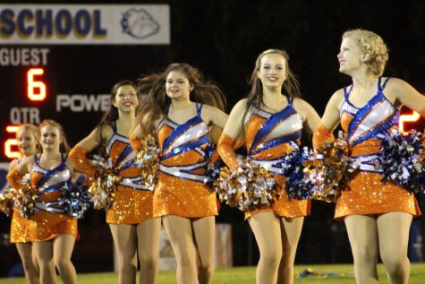 Seniors recognized at last home football game