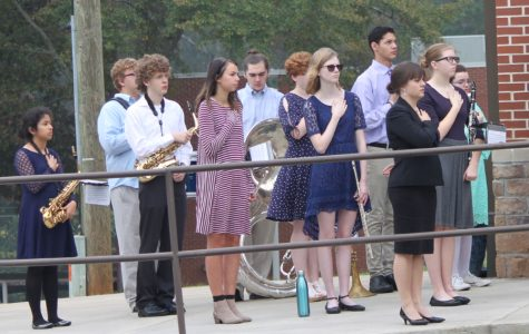 Band participates in local Veteran's Day Program