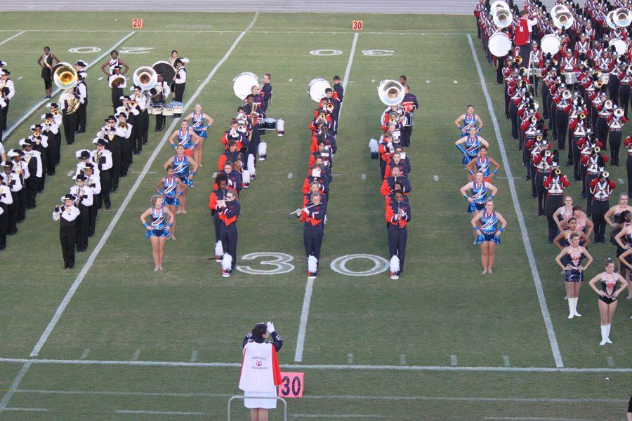 The Troubadours perform