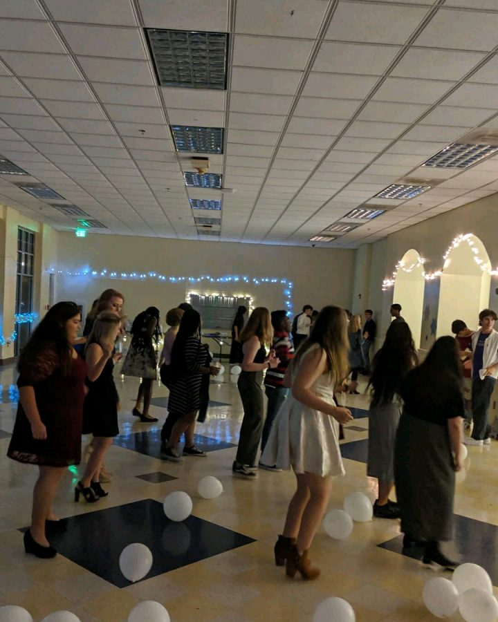 MHS Dances under winter lights